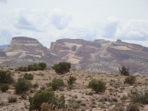 Utah Beauty:  The Water Pocket Fold of Capitol Reef National Park is visible in the background