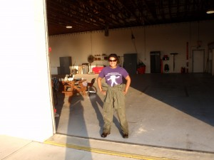 Me in my flight suit!