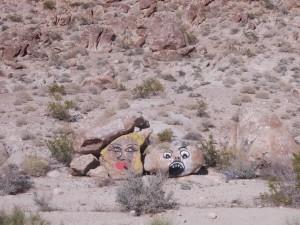 Desert grafitti