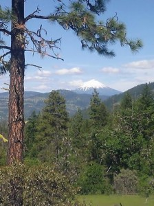 Mt. McLoughlin in the distance. Also a great hike!