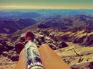 Overlooking my Idahome on top of Hyndman Peak outside of Ketchum, Idaho
