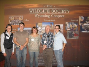 The whole group and one of the great Wildlife Biologists from our office, DON!