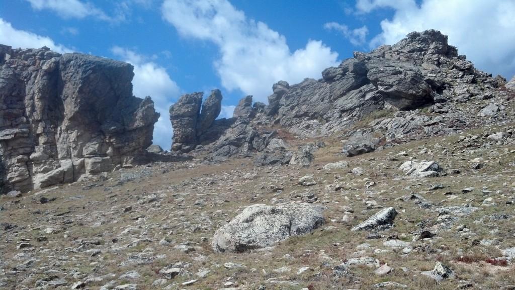Alpine hiking, RMNP