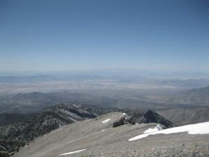 Part of the Mojave Desert landscape