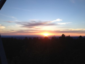Sunset in the Black Hills