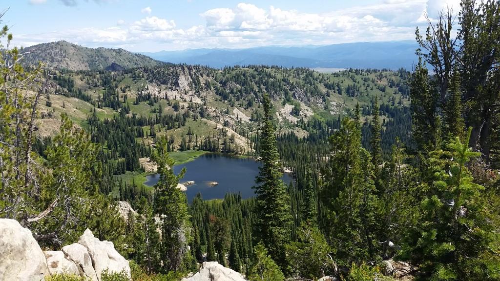 Beautiful Blue Lake!