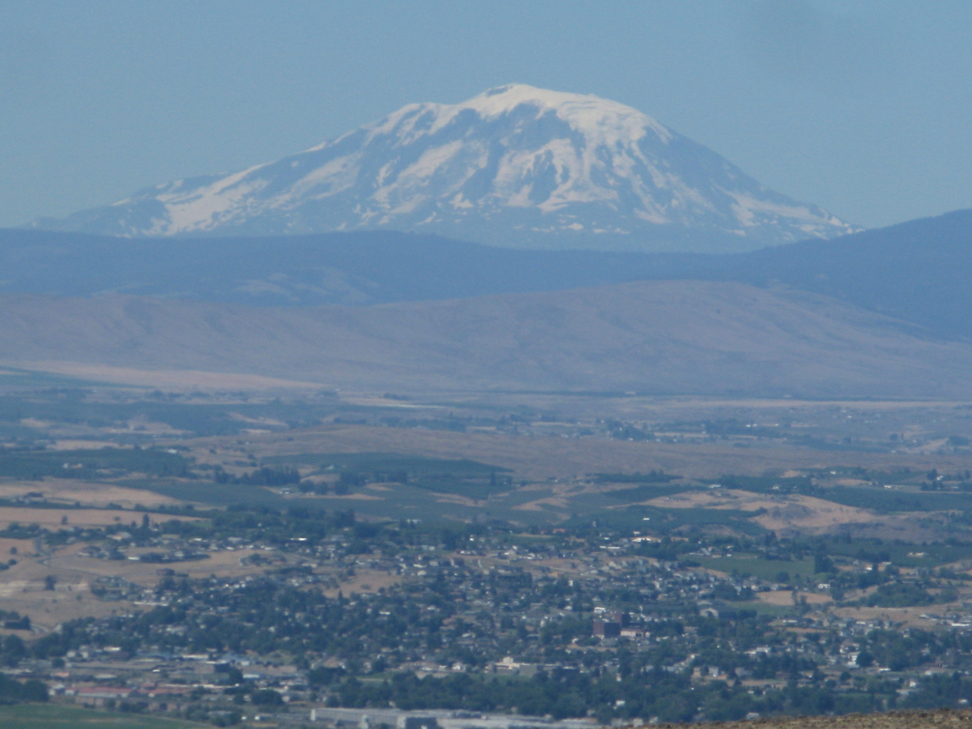 Mt Adams from a distance.