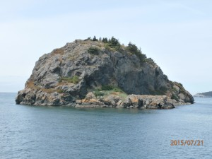 an Island in the archipelago near Lopez