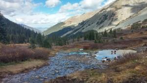Conundrum Hotsprings, outside of Aspen CO