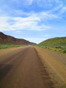 Dirt Road to Jamison Lake