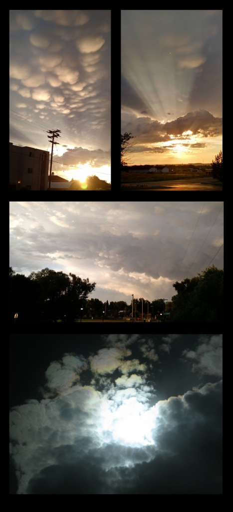 Some of my favorite clouds pictures taken recently!!