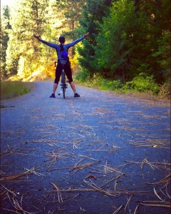 After completing 150 miles across the Idaho Panhandle!