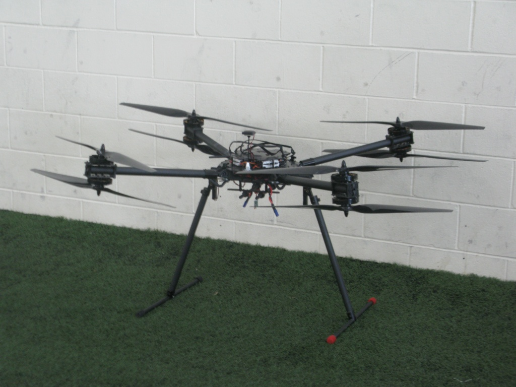 One of the large UAV/ drones I encountered!