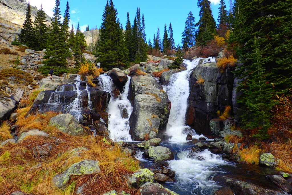Waterfalls in the Bighorns