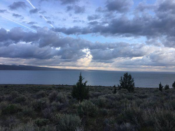 Salty waters - Lake Abert
